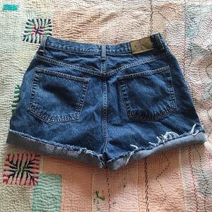 Vintage Calvin Klein CK High Waisted Mom Shorts